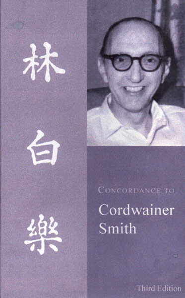 Concordance to Cordwainer Smith book cover