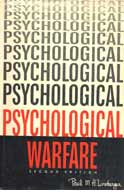 Psychological Warfare, by Paul M A Linebarger -- book cover